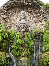 16th-century fountain of Diana Efesina, at Villa d'Este, Tivoli, Lazio, Italy