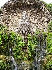 Fontana di Diana Efesina-Tivoli, Villa d'Este