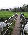 Footbridge across River Avon, Ashow - geograph.org.uk - 1598190.jpg