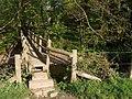 Footbridge over River Lew - geograph.org.uk - 430468.jpg