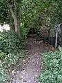 Footpath - Wide Lane - geograph.org.uk - 1494342.jpg