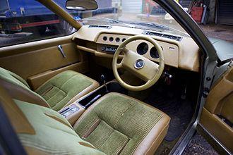 Ford Cirrus concept car - Ford Cirrus Interior Front