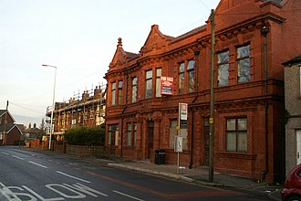 Abram, Greater Manchester - Image: Former Abram Urban District Council Offices