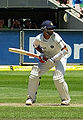 Former Indian captain Rahul Dravid at play.jpg