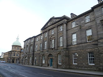 Constitution Street - Image: Former Leith Exchange Buildings, Constitution Street