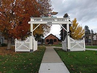 Fort Sherman (Idaho) United States historic place
