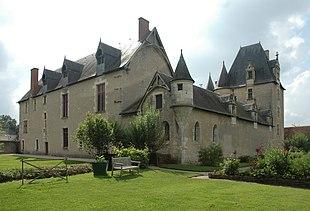 Schloss Fougeres Sur Bievre Von Osten