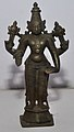 Four-armed Vishnu - Bronze - Circa 19th Century CE - ACCN 74-60 - Government Museum - Mathura 2013-02-24 6612.JPG