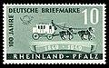 Fr. Zone Rheinland-Pfalz 1949 49 Postkutsche.jpg