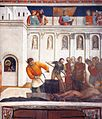 Fra Angelico - Martyrdom of St Lawrence - WGA00598.jpg