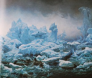 François-Auguste Biard - Walrus hunt by François-Auguste Biard, 1840