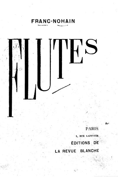 File:Franc-Nohain - Flûtes, 1898.djvu