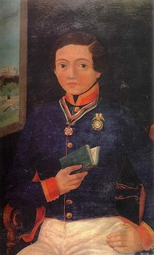 Niños Héroes - Cadet Francisco Marquez