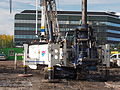 Franki Foundations Belgium, K2 0030, T63, BT42 Cat Drilling rig at Leiden, pic5.JPG