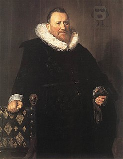 Nicolaes Woutersz van der Meer Dutch brewer, magistrate and mayor of Haarlem