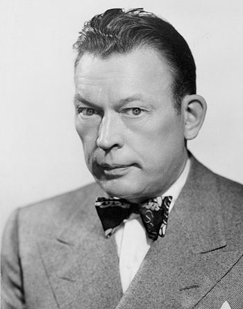 Publicity photo of comedian Fred Allen from hi...