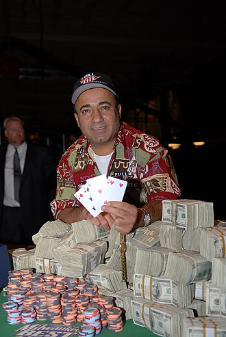 Freddy Deeb - Freddy Deeb at the 2007 World Series of Poker after winning the $50,000 H.O.R.S.E Event