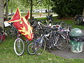 Fremont Solstice Parade 2007 - Gasworks bicycle rack.jpg