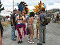 Fremont Solstice Parade 2007 - samba dancers at Gasworks 04.jpg
