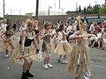 Fremont Solstice Parade 2008 - grass skirt dancers 02.jpg