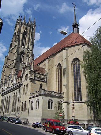 Roman Catholic Diocese of Lausanne, Geneva and Fribourg - Fribourg Cathedral, see of the Diocese of Lausanne, Geneva and Fribourg