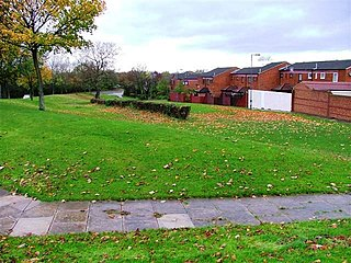Hemlington Area of Middlesbrough, North Yorkshire, England
