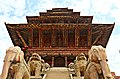 From the bottom of the five stroyed temple of Bhaktapur.jpg