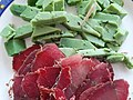 Fromage Presto et viande séchée, février 2021, Tunisie.jpg