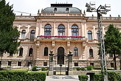Front facade of the Patriarchate Court in Sremski Karlovci.jpg
