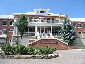 National Register of Historic Places listings in Prescott, Arizona - Image: Front view of Arizona Pioneers' Home