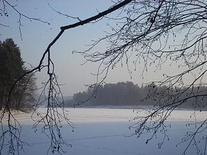 Lake Yalchik - Frozen Smaller Yalchik