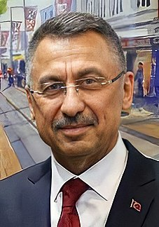 Fuat Oktay Vice president of Turkey