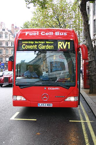 Fuel cell bus - Image: Fuel cell bus London