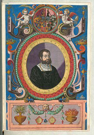 Raymund Fugger - Raymund Fugger - colour copperplate from Fuggerorum et Fuggerarum imagines, 1618.