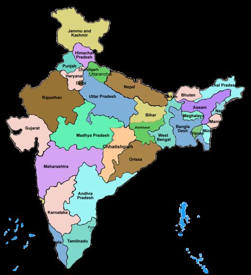 Full india map
