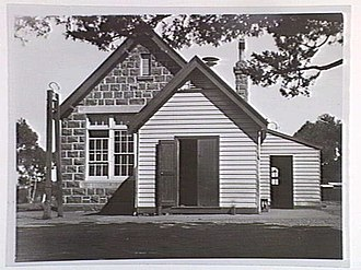 Fyansford, Victoria - Image: Fyansford School 1880s