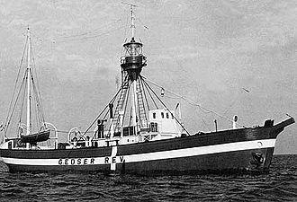 Lightvessel Gedser Rev - Image: Fyrskib XVII Gedser Rev, c. 1948