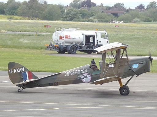 G-AXAN Tiger Moth DH82 (26618937123)