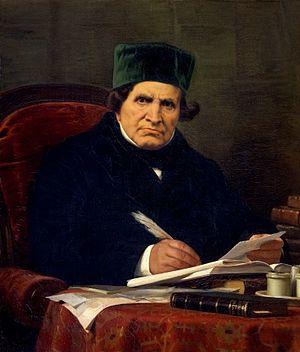 Giovanni Battista Niccolini - 1864 portrait by Stefano Ussi