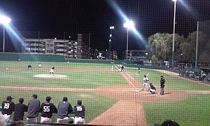 Grand Canyon Antelopes - Baseball game, Gonzaga University at GCU, February 19, 2016