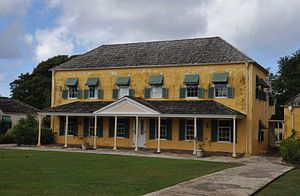 George Washington House (Barbados) - Exterior