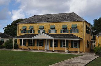 Barbados - George Washington House was visited by George Washington in 1751, in what is believed to have been his only trip outside the present day United States.