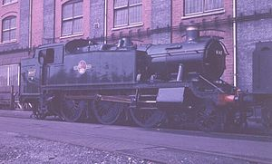 GWR 2-6-2T 6147 at Swindon Works.jpg