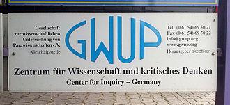 Registered association (Germany) - Image: GWUP 01