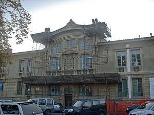 Galleria Rinaldo Carnielo - Facade of Gallery undergoing restoration in 2006.