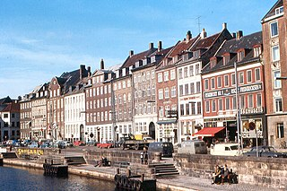 Gammel Strand square in Copenhagen