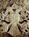Gandaberunda relief in Rameshwara temple at Keladi.jpg