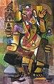 Ganesh the Ganapathy 120x 90 cm Oil on Canvas by Raja Segar.jpg
