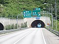 Gangchon IC 1.4km Ahead Sign in Seoul-Yangyang Expwy Balsan 2 TN(Yangyang Dir).jpg