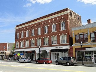 Garbose Building historic commercial building in Gardner, Massachusetts, United States